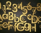 Movie stars Font machine embroidery designs - cps, letters and numbers 3 and 2 inches INSTANT DOWNLOAD