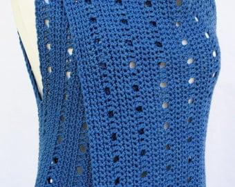 PDF Crochet Vest Pattern Coastal Breezes Hooked