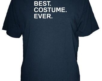 Mens Halloween Costume Shirt - Best. Costume. Ever. - Funny Halloween Tshirt - Organic Cotton Organic Bamboo - Easy Simple Costume