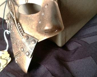 Bronze Metal-Man Phantom Mask