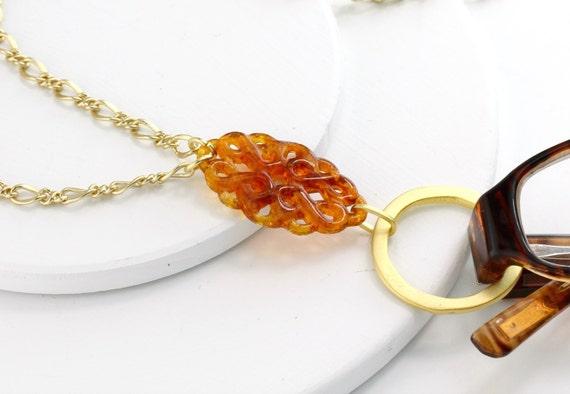 items similar to tortoise eyeglass chain tortoise lanyard