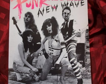 Gary Panter Punk R 'n' R New Wave Song Book 1978 Illustrations Words & Music 14 Songs Velvets PIstols Ramones Devo Dolls Iggy Saints Jam