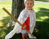 Boy's Cape & Crown // Kids' King Costume Set // Stretch to fit // Limited Edition // Nautical Nathaniel