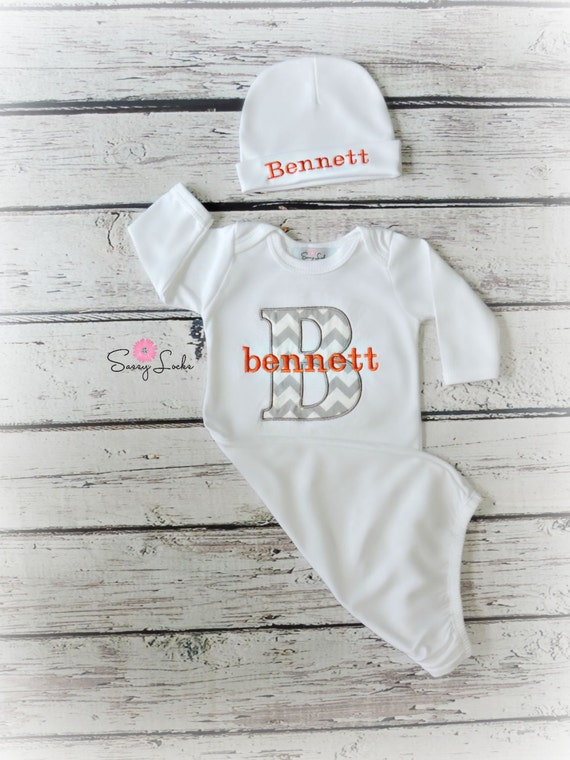 Newborn Baby Boy Clothes Personalized Baby Boy Take by ...