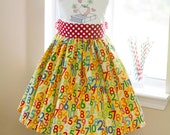 Back to school numbers Twirl Dress