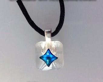Mini Swarovski Crystals On Ice Necklace. Simply gorgeous!