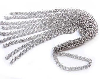 Chainmaille Cat of Nine Tails