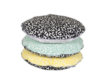 Round Chair Pads DOTS Chair cushion, chair pads, dining chair cushion, chair pillow