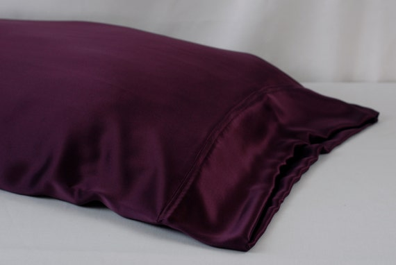 100 Pure Silk Pillowcase Mulberry Colored By Adorabellababy