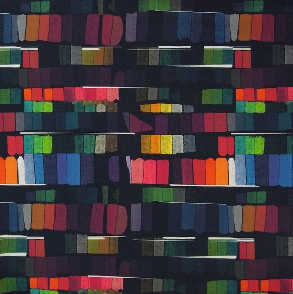 Victoire, printed viscose elastane jersey, Ottobre, fabrics, Etsy
