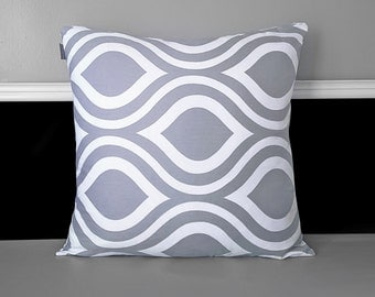 "Bold Teardrop Tribal Cushion Pillow Cover 20"" x 20"""