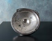 Antique Silver Plate Brides Basket, Silver dish with Handle, Compote dish by Union Silver Plate Co.