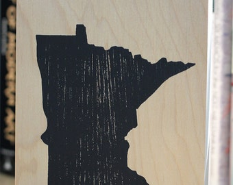6 x 8 minnesota (wood panel)