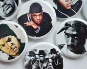20 Totally Awesome 90s Pin Back Buttons, Old School hiphop Buttons, I love the 90s, 90s rap button, 90s hiphop buttons, 90s Birthday Buttons