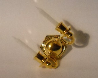 Dollhouse Wall Sconce Brass, Double Mini Wall Sconce withFaux Candles for Your Dollhouse