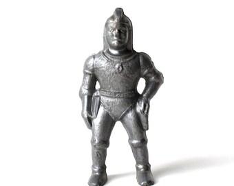 Buck Rogers Spaceman Figure, 1950s, Vintage Silver Plastic Astronaut Toy