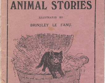 Books for the Bairns #86 - Animal Stories - Circa 1890's