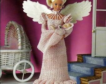 Mother's Love Angel  Fashion Doll  Crochet Pattern  Annies Attic 870519