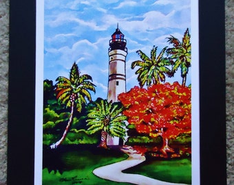 Key West Lighthouse print