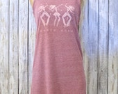 Summer Tank Dress, Womens Casual Clothing, Boho Clothing, Natural
