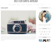 Responsive Wordpress Theme - Better Days Ahead - Blog Template