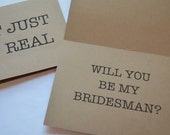 Will you be my Man of honor Card SH*T just GOT REAL Card Diamond Bridesman Cards Funny Groomsman Card Bridesmaid Proposal Best Man proposal