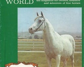 Bint Sahara - Vintage Arabian Horse World Magazine, Back Issue November 1971