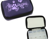Paw Deluxe Pill Box -- to organize and keep handy your daily pills & supplements