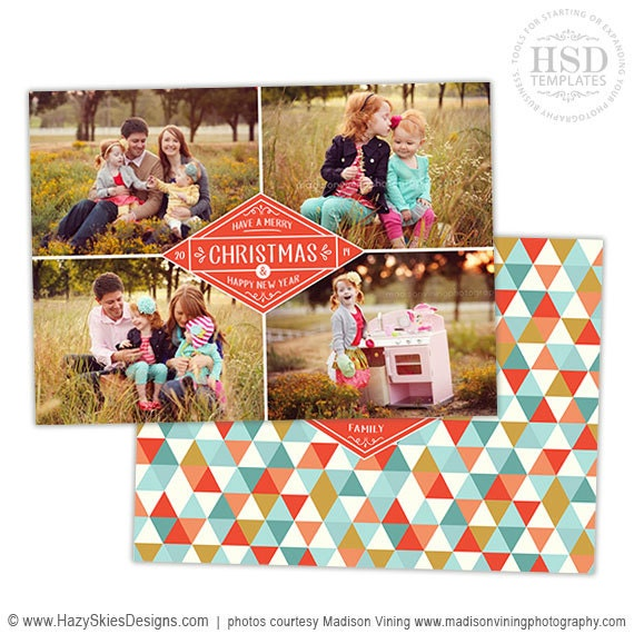 free christmas card templates for photoshop - items similar to christmas card template for photographers
