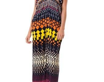 1970S MORPHEW LAB Maxi Resort Dress 1     Size: OS