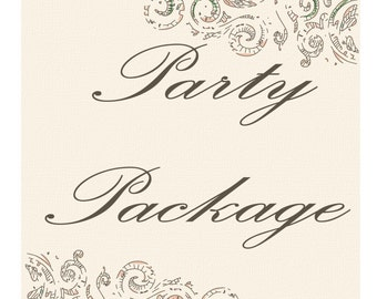 LARGE Birthday Party Package
