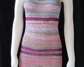 DIKTONS KNIT Dress  made in BARCELONA Spain size 6