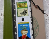 Retro Classics The Time Machine Invisible Man HG Wells Bookmark - Laminated double sided