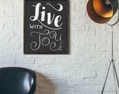 Choose Joy Print, Encouraging Quote, Happiness Quote, Life Quote, Happy Quote, Inspiring Print