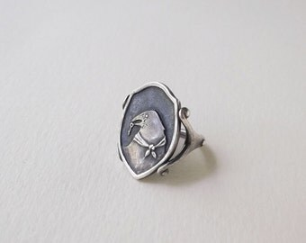 Secret Crow ring *made to order*