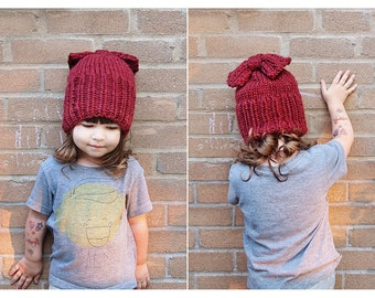 super chunky knitted hat, adult, kid, toddler  CHOOSE YOUR COLOR