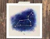 Leo - Zodiac Art Print