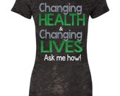 Changing Health & Changing Lives! Ask me how!  Blitz Shirt for Ladies up to size 6X
