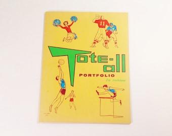 Vintage 1950s School Folder Porfolio