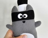 The Raccoon Plushie, little forest rebel