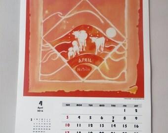 2016 Animal Wall Calendar - A Year in Pets