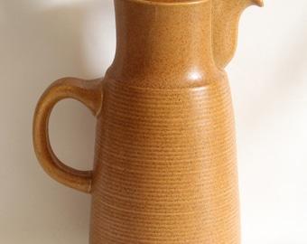 Denby Canterbury Large Coffee Pot 1960's Vintage