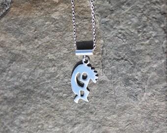 Kokopelli Sterling Silver Necklace