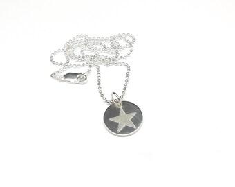 Silver chain star of mine, 925 Silver