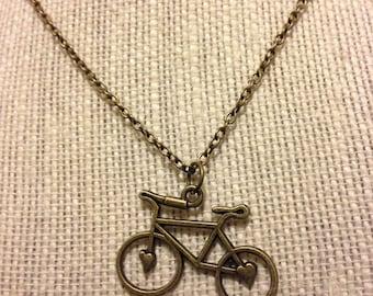 "22"" Bronze Bike Necklace"