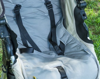 Organic cotton stroller liner
