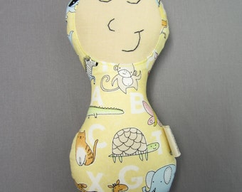 Organic Baby Toy Natural Baby Toy Eco-Friendly Doll