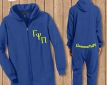 Sorority PJ's, Adult Onesie Pajamas, Big Little PJ's, Big Sis Little Sis, Sorority Family,