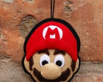 Super Mario felt keyring / ornament