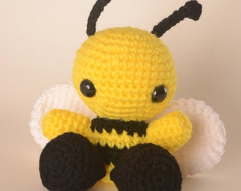Buzz the Bumble Bee Crochet Toy Doll